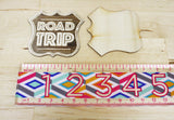 6 | Road Trip Wooden Badges
