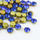 10 | Swarovski Chaton Rhinestones in Settings | VINTAGE | 6mm