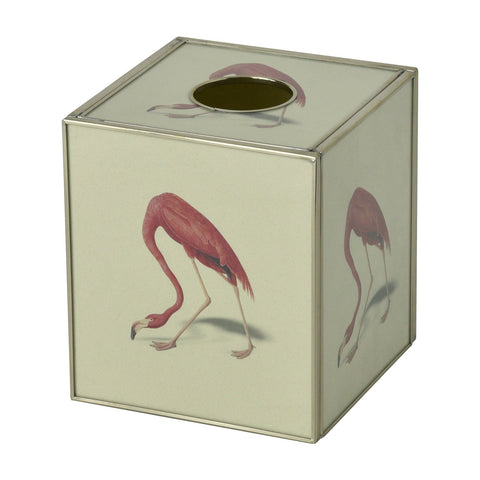 Tissue Box - Flamingo
