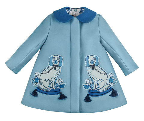 PRE-ORDER Aldrich and Madame De Bleu Coat - Willa Heart Collection