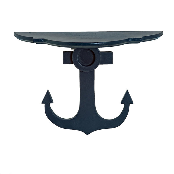 Nautic Anchor Wooden Sconce