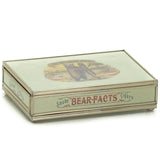 Nickel and Glass Playing Card Box - Big Bear