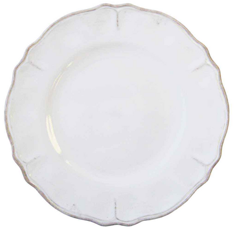 Italian Indoor/Outdoor Dinnerware - Rustica Antique White