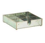 Miscellaneous - Antique Mirror Tray - Dinner Napkin Holder