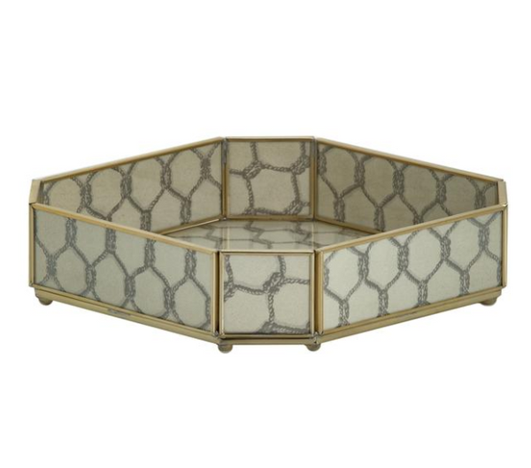 Miscellaneous - Gray Knot - Octagonal Tray