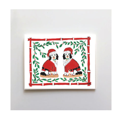 Tinsel & Chestnut Holiday Card