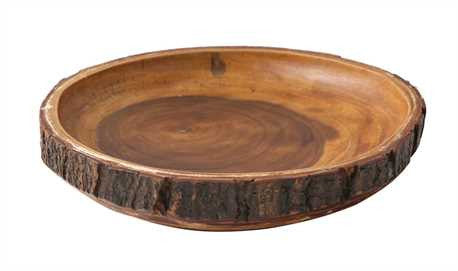 Artisan Acacia Wood Bowl