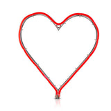 Neon LED Red Heart