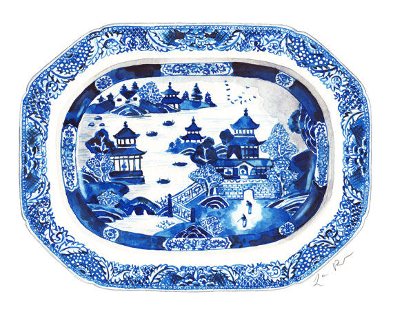 28c36fd1bfe Blue and White Ginger Jar Tray 12 – SouthHaus