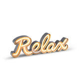 Neon LED Relax Sign - 21""