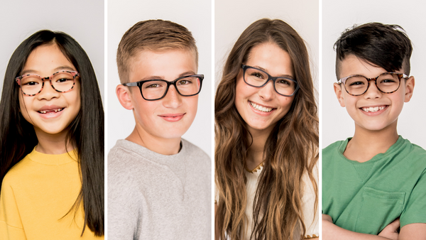 Glasses for Kids: A Face Shape Guide