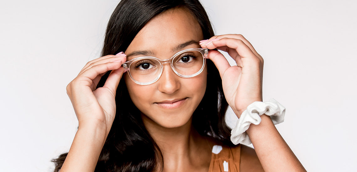 Clear glasses for teens