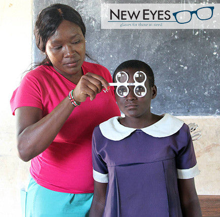 New Eyes for the Needy