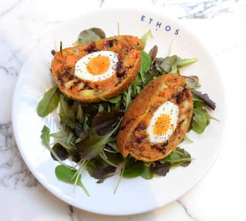 SUMMER GREENS SCOTCH EGG HAMPER