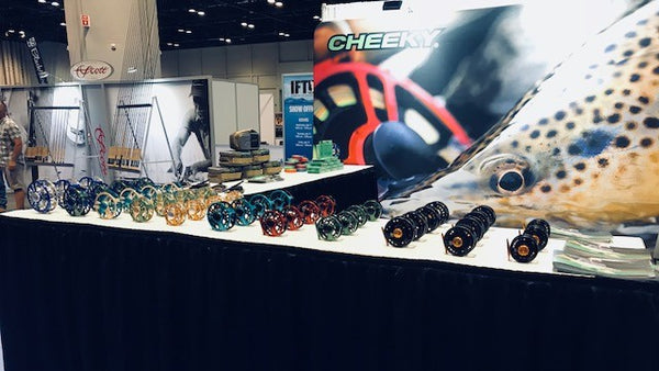 Team Cheeky Exhibits At ICAST/IFTD