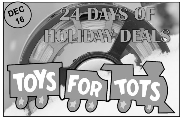 Day 16: Toys for Tots (and BEER)
