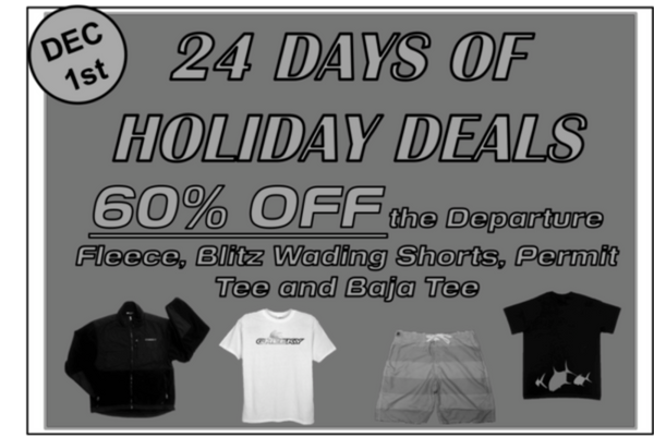 Day 1: 60% Off Select Apparel