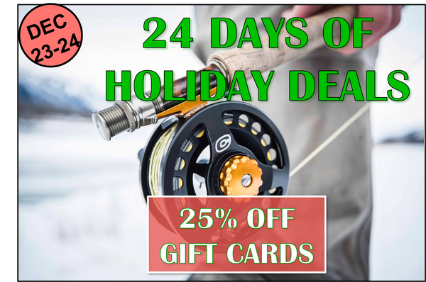 Days 23-24: 25% Off Gift Cards