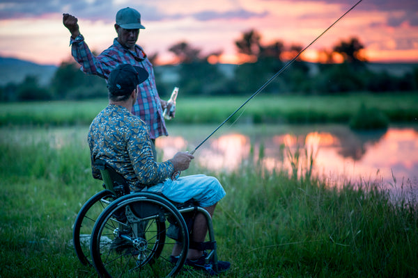 Gallery: Adaptive Fly Fishing Camp