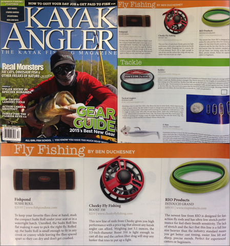 Kayak Angler Names Boost 350 the Best New Fly Reel of 2015