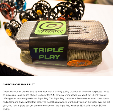 "Cheeky Triple Play Named ""IFTD Standout"" by Hatch Magazine"