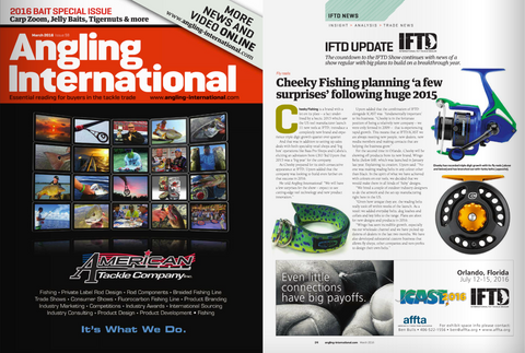 Cheeky and Wingo Belts Featured in Angling International