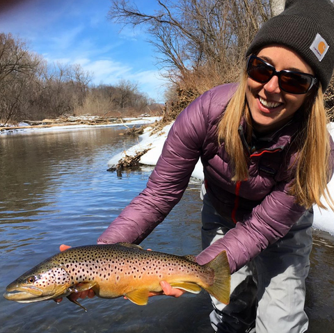 Cheeky Ambassadors Abbie Schuster and Harrison Brothers Go Fly Fishing in Massachusetts