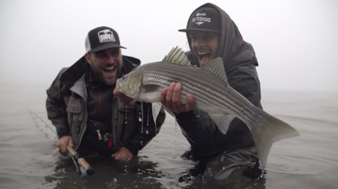 VIDEO: Bonaventure Striped Bass