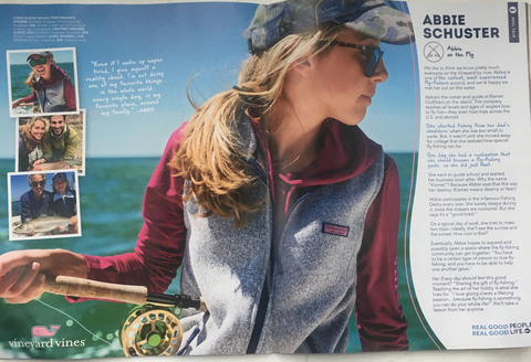 "Vineyard Vines Highlights Abbie Schuster In Its ""Real Good People"" Series"