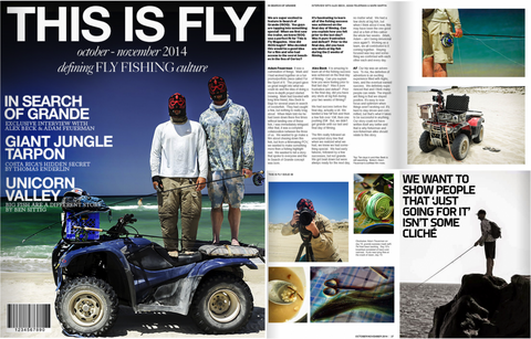 Cheeky Thrash 475 Featured on the Cover of This Is Fly's November Edition