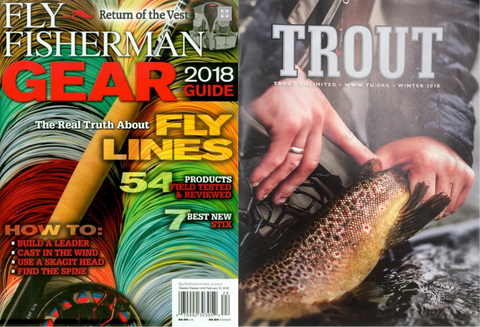 Limitless Selected For 'Gear Of The Year' In TROUT & Fly Fisherman