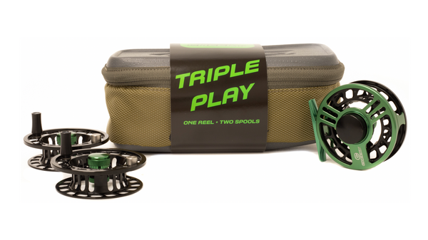 Launch Triple Play Fly Reel and Spool Bundle