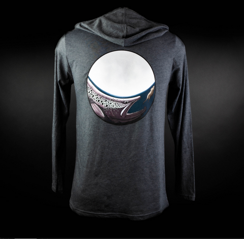 Midnight Snack Hooded T-Shirt - Grey
