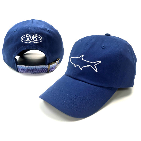 Wingo Fish Skin Backstrap Hats