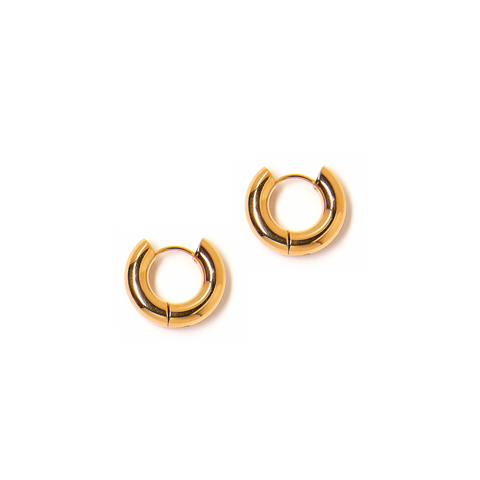 Estelle Medium Hoop Earring