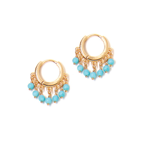 Dazzle Turquoise Earring