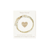 "Little Lovelies ""Balance"" Carded Bracelet"