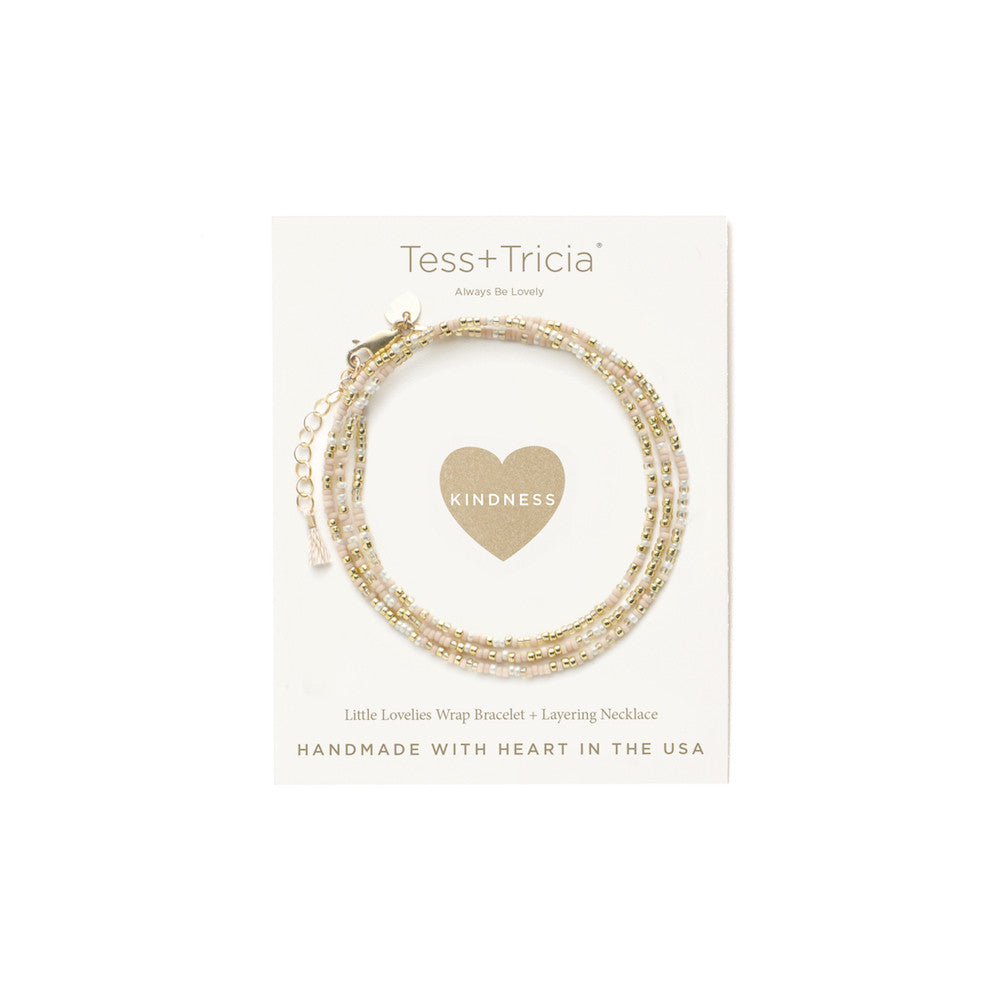 "Little Lovelies ""Kindness"" Carded Bracelet"