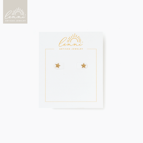 Lenni and Co® Star Stud Earring