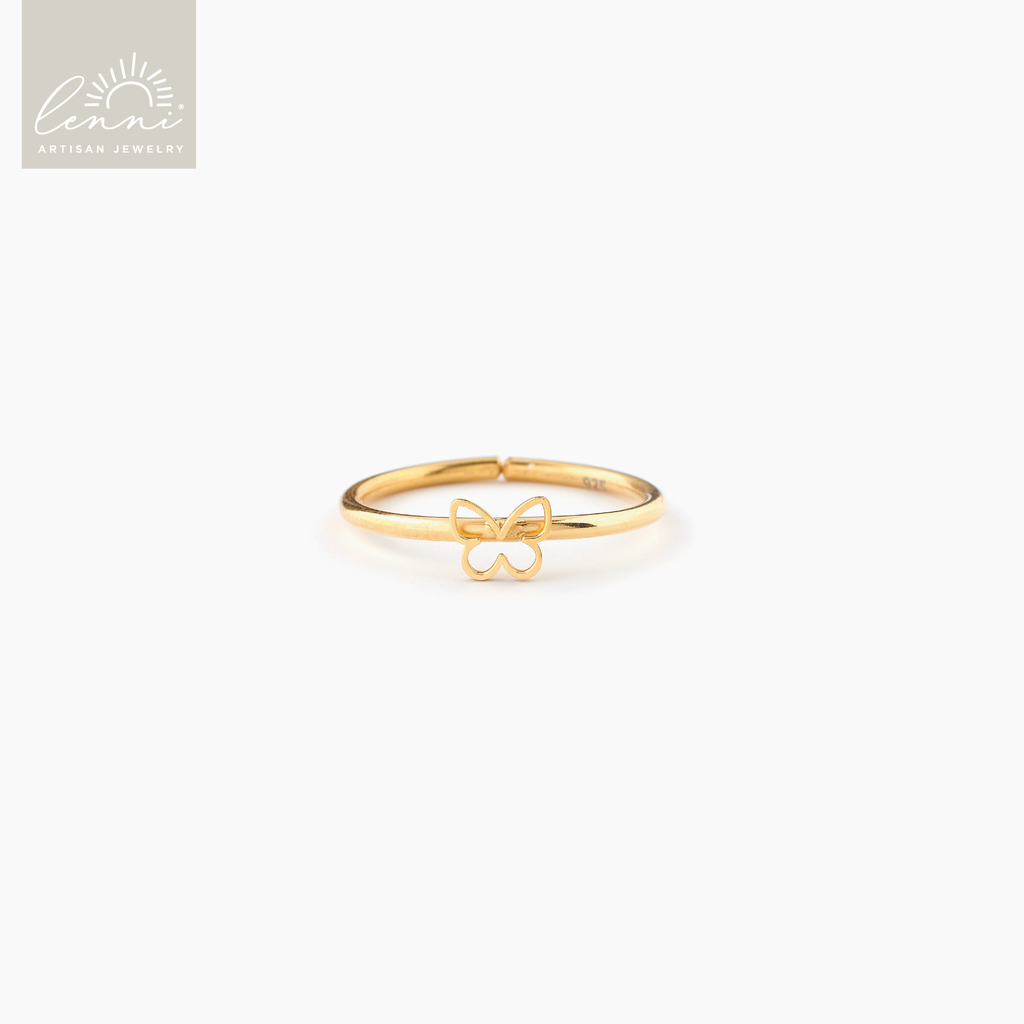 Lenni and Co® Butterfly Ring