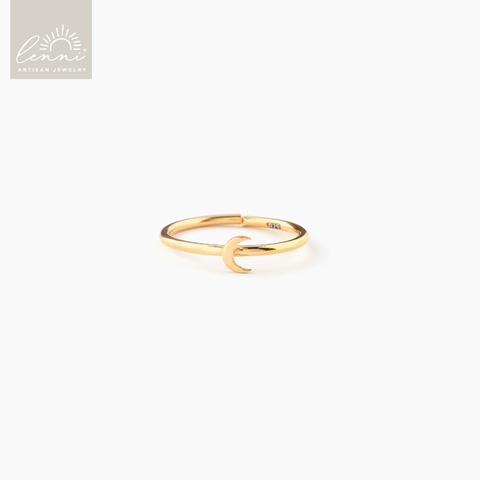 Lenni and Co® Moon Ring