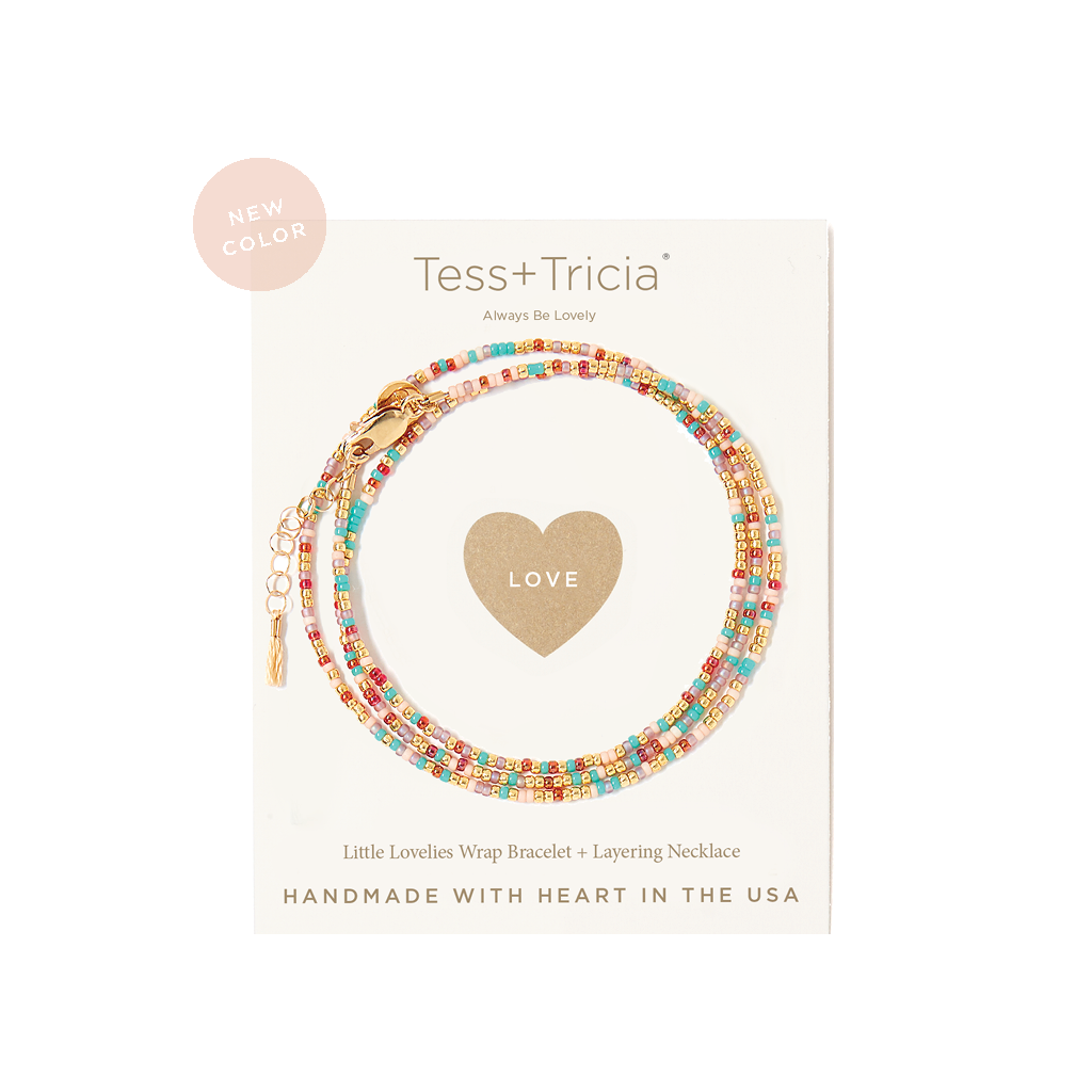 "Little Lovelies ""Love"" Carded Bracelet"