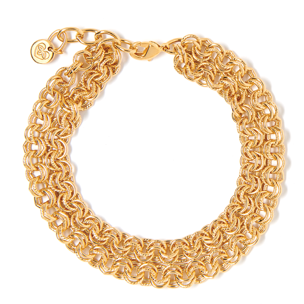 Sophie Double Gold Bracelet