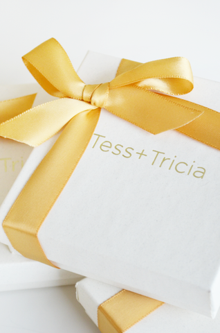 Jewelry Gift Wrapping by Tess+Tricia