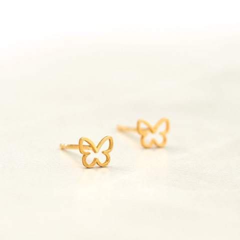 Lenni and Co® Butterfly Stud Earring