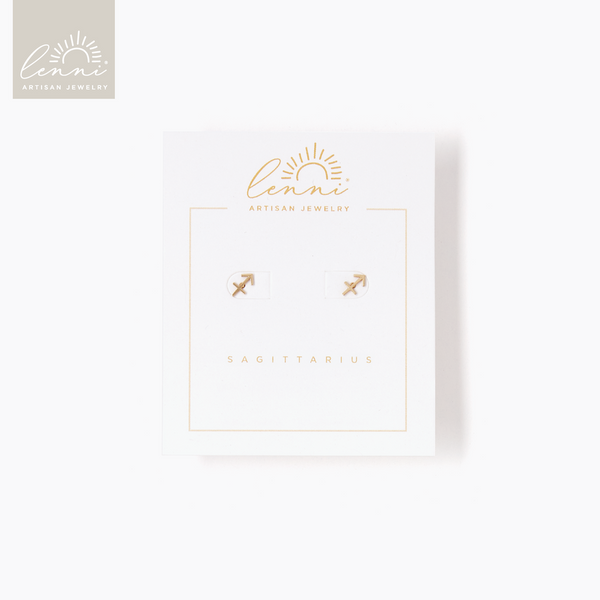 Lenni and Co® Zodiac Stud Earring