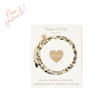 "Little Lovelies ""Bravery"" Carded Wrap Bracelet"