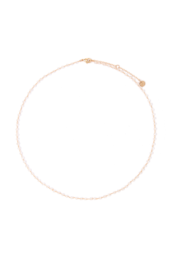 Bella Crystal Simple Necklace