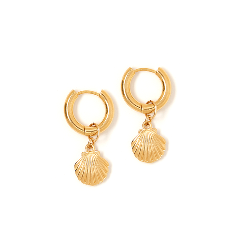 Estelle Shell Charm Earring