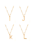 Letter Simple Necklace